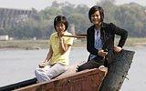 朝鲜民众游览鸭绿江