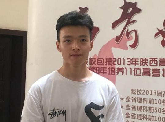 """陕西高考文科状元被称""""史上最帅"""""""