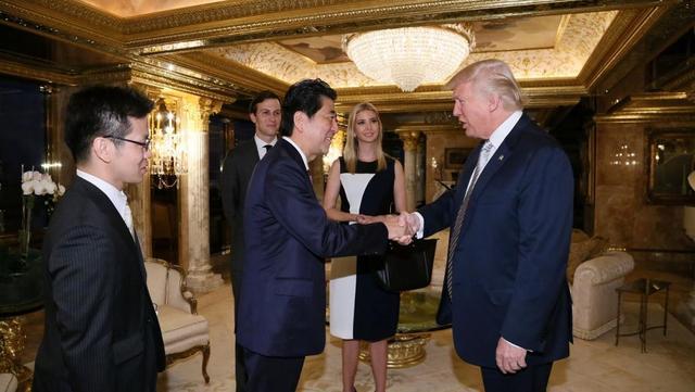 日高官透露安倍将于2017年1月访美 正式会晤特朗普