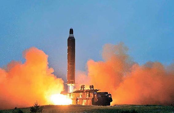 金正恩执政5年射50次导弹 导弹核弹结合已无障碍