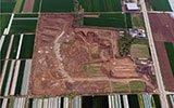 这里的砖窑厂取土面积接近一个村