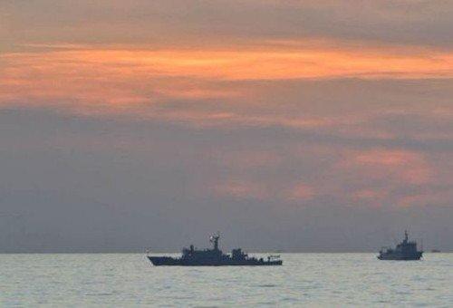 海洋局:海监编队要坚定不移在黄岩岛维权
