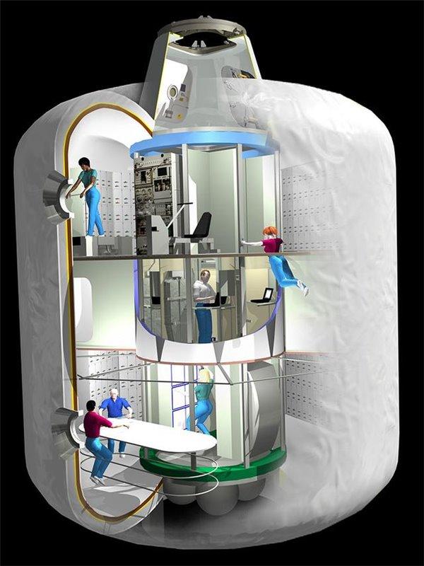 航天科技集团五院充气式太空舱研制迎来新突破