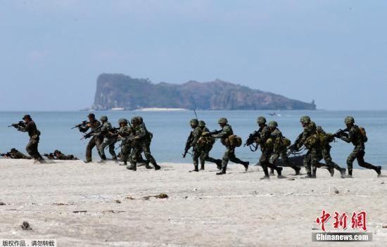 """菲总统称愿与中方""""静静对话"""":开战不是选项"""