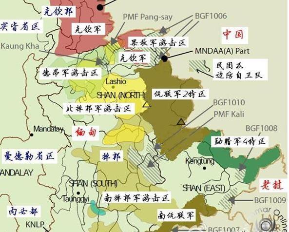 缅甸北部战事追踪分析