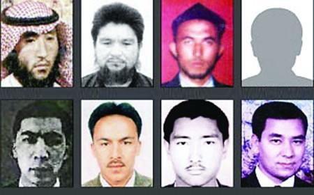 公安部全球通缉8名东突恐怖分子(资料图)