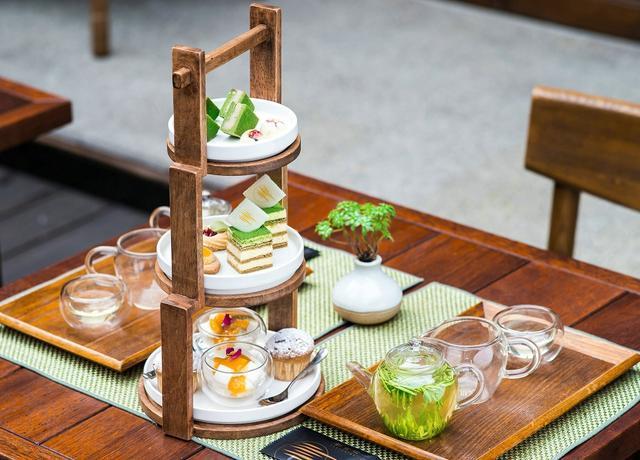 竹叶青携博舍打造中式下午茶图片