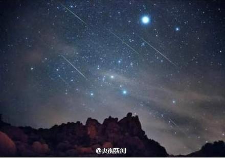 狮子座流星雨今夜光临地球 火流星将划过夜空