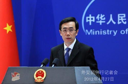 外交部:菲律宾对黄岩岛归属表态出尔反尔
