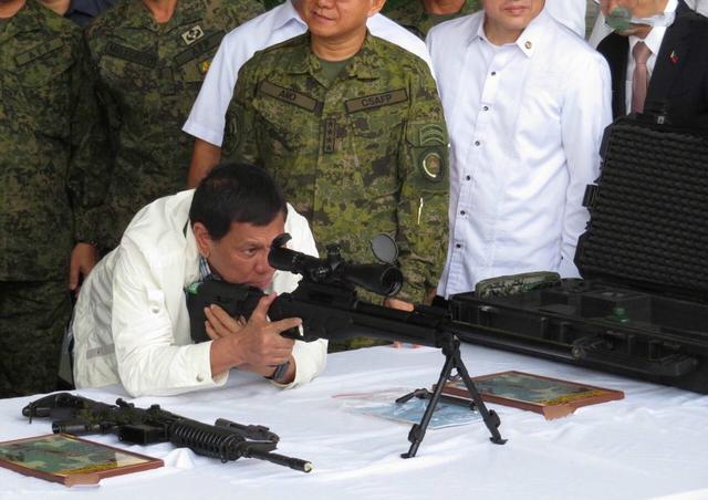 菲军方:已准备好接收来自中国的武器弹药