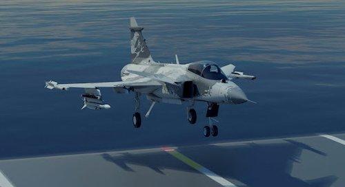 瑞典将研发舰载型鹰狮战机 印度系潜在用户