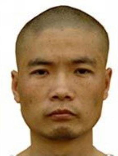 重庆警方发布的通缉照片