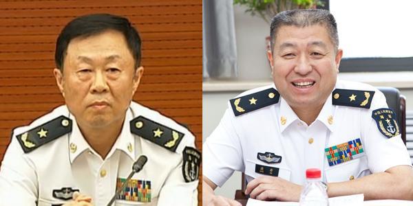 朱谦、康非2位少将出任海军政治部副主任