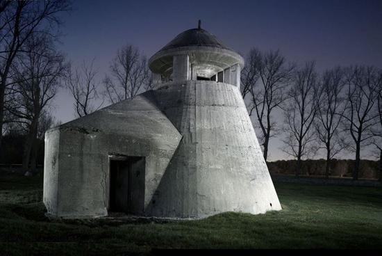 造型奇葩的德国炮楼 别想歪了