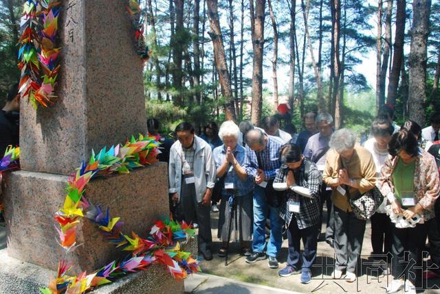 日本二战遗孤会面中方代表 称不忘中国父母恩情