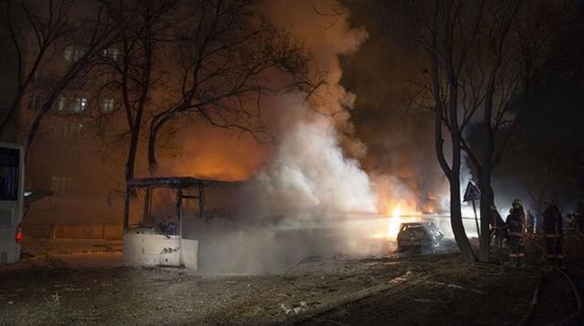 土耳其首都安卡拉发生大爆炸 至少28死61伤(图)