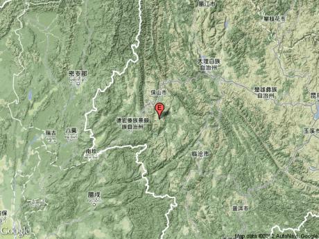 云南保山施甸县3分钟内连发两次4.5级以上地震
