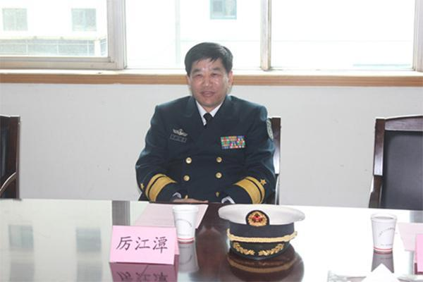 厉江潭不再担任海军东海舰队副政委 已年满60岁