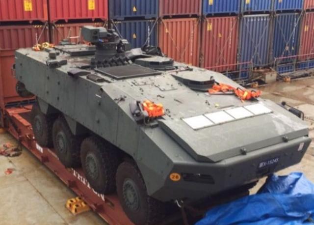 新媒:中国查扣装甲车系警告新※加坡断绝与台军往来