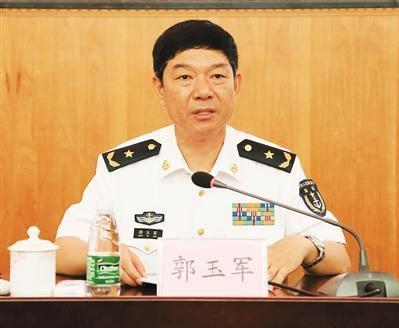原广州军区副参谋长郭玉军任东部战区副参谋长