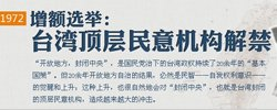 台湾转型·1972:增额选举