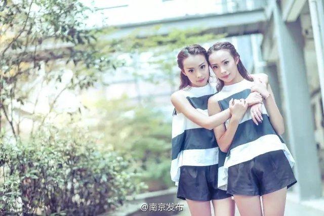神同步!90后高颜值双胞胎姐妹同分考同校同专业 - 海阔山遥 - .