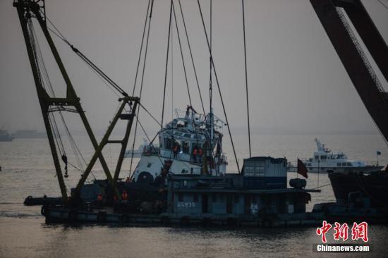 长江沉船事故:系因操作不当致船只倾覆沉没