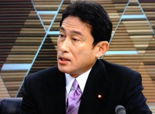 日本外相岸田文雄呼吁中日谈判解决钓鱼岛问题
