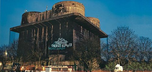 德国纳粹碉堡将被改建为欧洲最大太阳能发电站