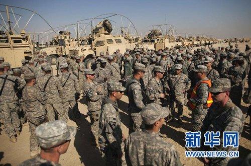 美国防长签署官方文件 正式结束伊拉克战争
