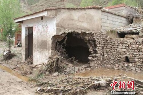 甘肃岷县5·10发生特大冰雹暴洪灾害 - 心的对话 - 心的对话