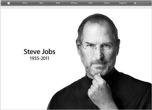 苹果官网悼念乔布斯 美媒称苹果面临内忧外患
