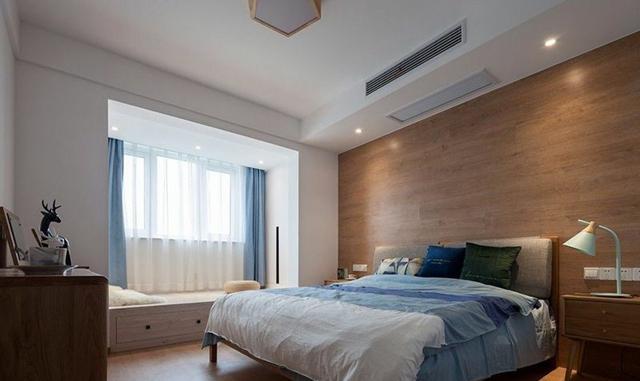 100平活泼三居室,清新北欧风