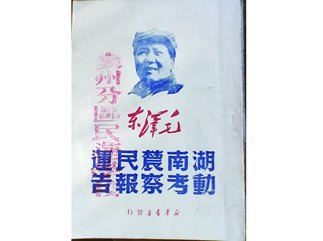 《湖南农民运动考察报告》