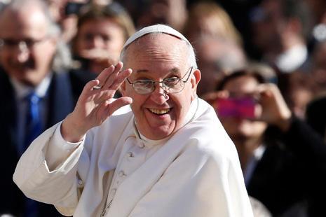 罗马教皇被允许飞越中国领空 中梵关系或现缓和