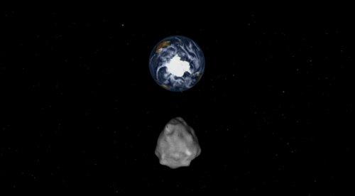 NASA称较大陨石月中将掠过地球 无撞击危险