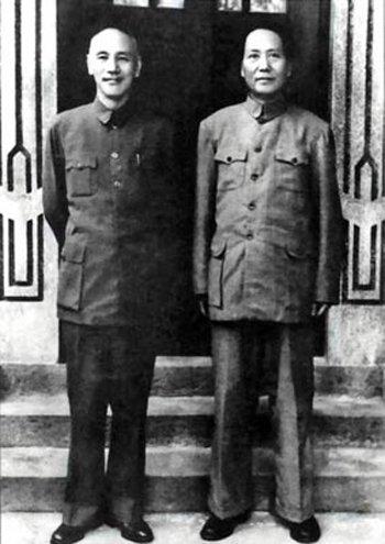 """重庆谈判时蒋介石真喊过""""毛主席万岁""""吗?"""