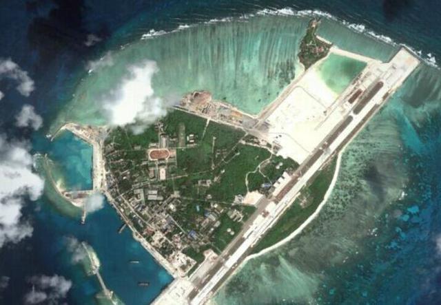 资料图:永兴岛俯瞰图