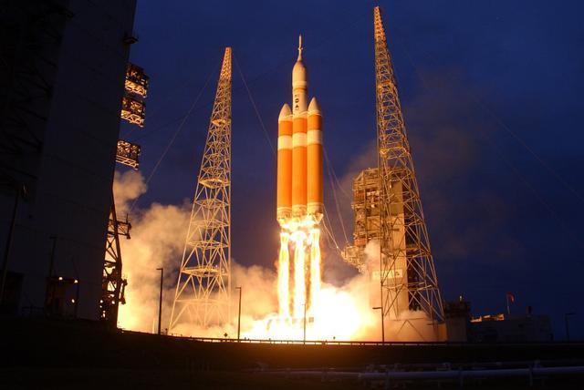 美火箭搭载军方通讯卫星升空 送入地球静止轨道