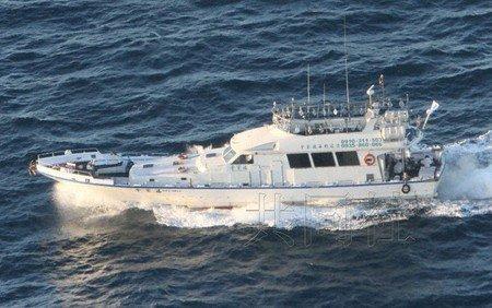 图片由日本第11管区海上保安总部提供。