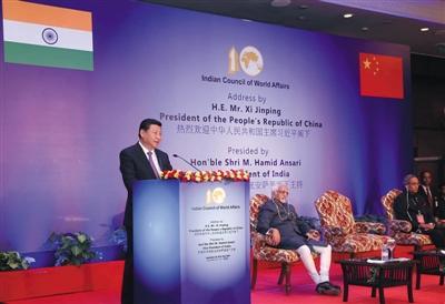 中印发表联合声明:考虑合建一条高铁