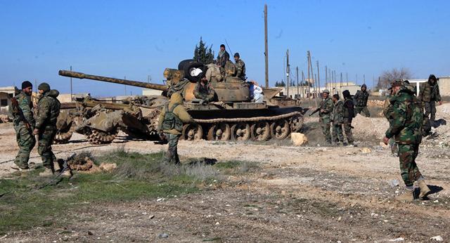 叙利亚政府军在阿勒颇攻占近7成反政府武装控制区