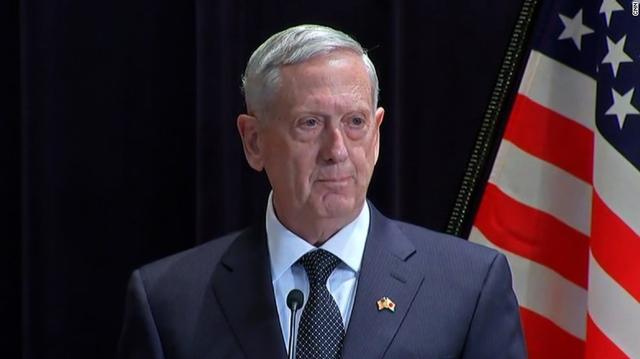 美国新任防长:在南海无需动武 最好还是外交解决