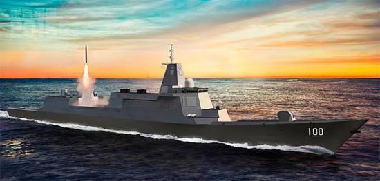 军内人士谈055大驱:需搭载巡航导弹增加对陆攻击