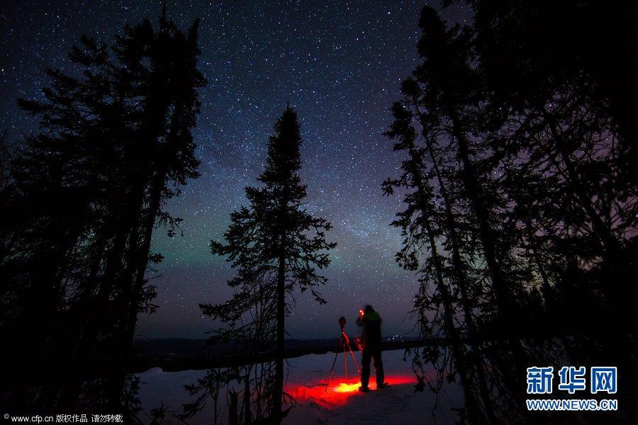2102最佳自然图片--阿拉斯加极光与星轨交相辉映美轮美奂 - 洞天的日志 - 网易博客 - 清风 - 清风山水欢迎你,绿韵亭阁水上仙。