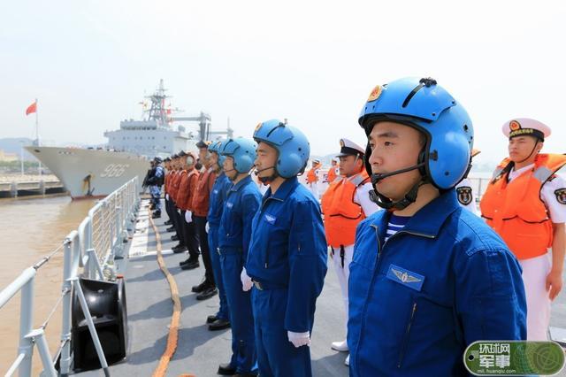 中国海军编队出发参加环太军演 规模仅次美加