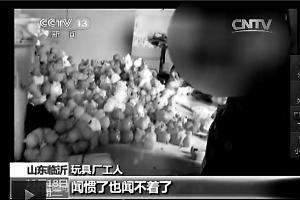 山东临沂玩具厂生产毒玩具 增塑剂超标368倍