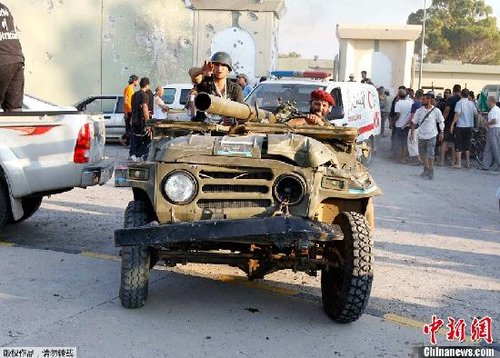 国际观察:利比亚局势将成新一轮中东冲击波?