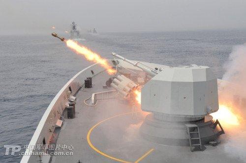 中国炮王扬威中俄军演:练成海上狙击手(图)
