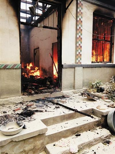 山东平邑回应村民因强拆被烧死 称系死者自焚